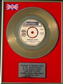 "Frank Sinatra - 24 Carat Gold Disc 7"" - Something Stupid"